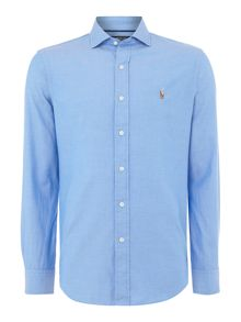 Polo Ralph Lauren Long sleeve plain oxford with tonal polo player