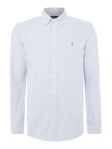 Polo Ralph Lauren Long sleeve slim fit stripe oxford shirt