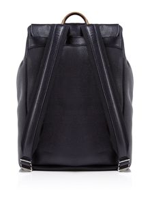 Paul Smith Leather Structured Backpack