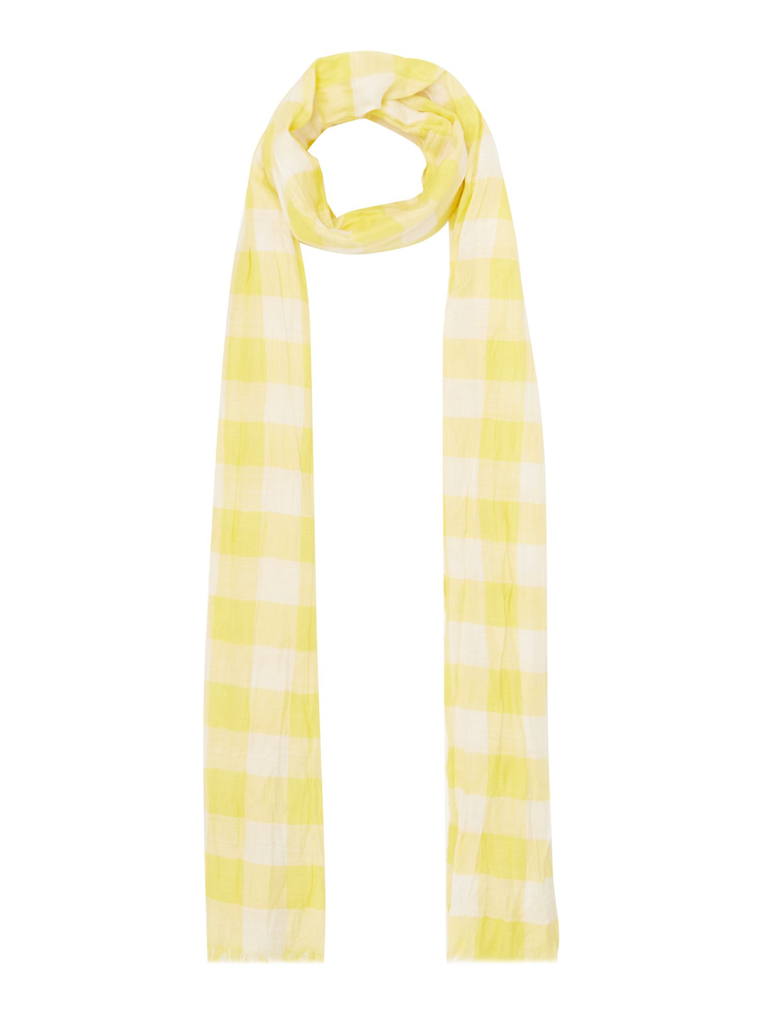Dickins & Jones Darcy gingham check, Yellow