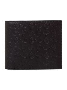 Paul Smith London Paisley Print Bilfold Wallet