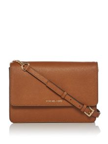 Michael Kors Daniela flapover cross body bag