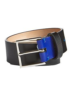 Striped Emboss Belt
