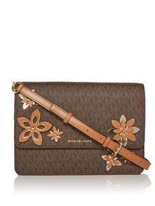 Michael Kors Daniela flowers crossbody bag