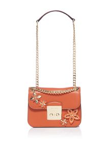 Michael Kors Flowers small flap over bag