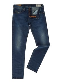 Diesel Thommer slim tapered dark wash jeans