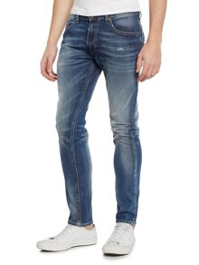 Diesel Thommer slim tapered mid wash jeans