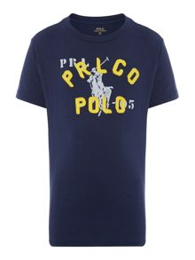 Polo Ralph Lauren Boys Pony Graphic Short Sleeve T-Shirt