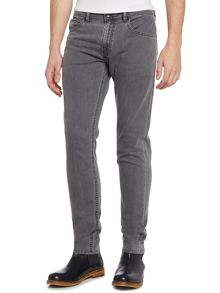 Diesel Thommer slim tapered grey jeans