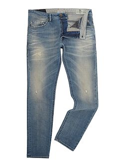 Thommer slim tapered light wash jeans