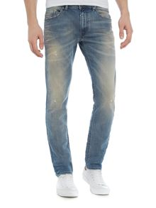 Diesel Thommer slim tapered light wash jeans