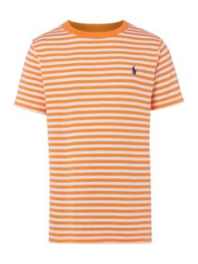 Polo Ralph Lauren Boys Stripe Crew Neck T-Shirt