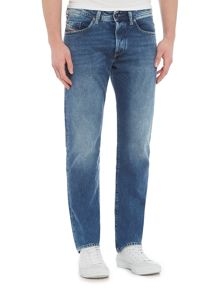 Diesel Buster tapered mid wash jeans
