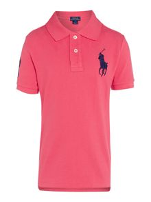 Polo Ralph Lauren Boys Big Logo Short Sleeve Polo