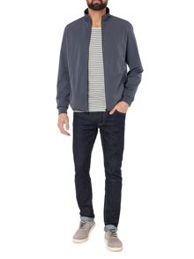 Selected Homme High Neck Zip-Through Jacket