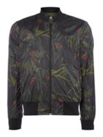 PS By Paul Smith Printed Zip-Up Bomber
