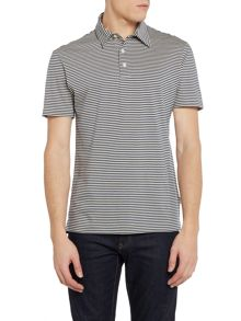 PS By Paul Smith Feeder Stripe Polo Shirt