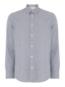 Selected Homme Speckle Yarn Long-Sleeve Shirt