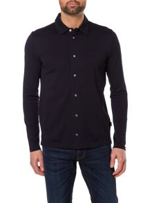 PS By Paul Smith Button Down Logo Polo Shirt