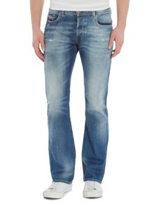 Diesel Zatiny bootcut light wash jeans