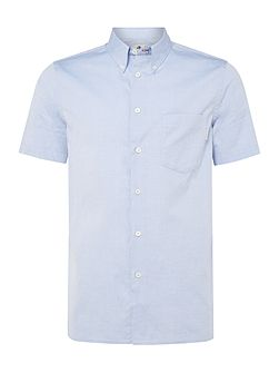 Casual Fit Short Sleeve Oxford Shirt