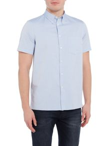PS By Paul Smith Casual Fit Short Sleeve Oxford Shirt