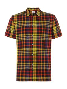 PS By Paul Smith Short Sleeve Madras Check Shirt