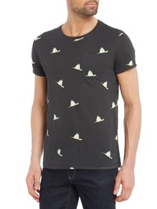 Scotch & Soda Alloevr Print Tee