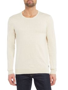 Scotch & Soda Cotton Cashmere Crew Neck Knit