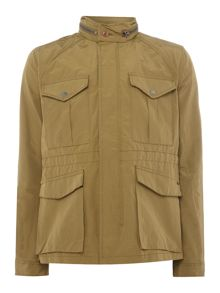 Scotch & Soda AMS Blauw 6 Pocket Military Jacket