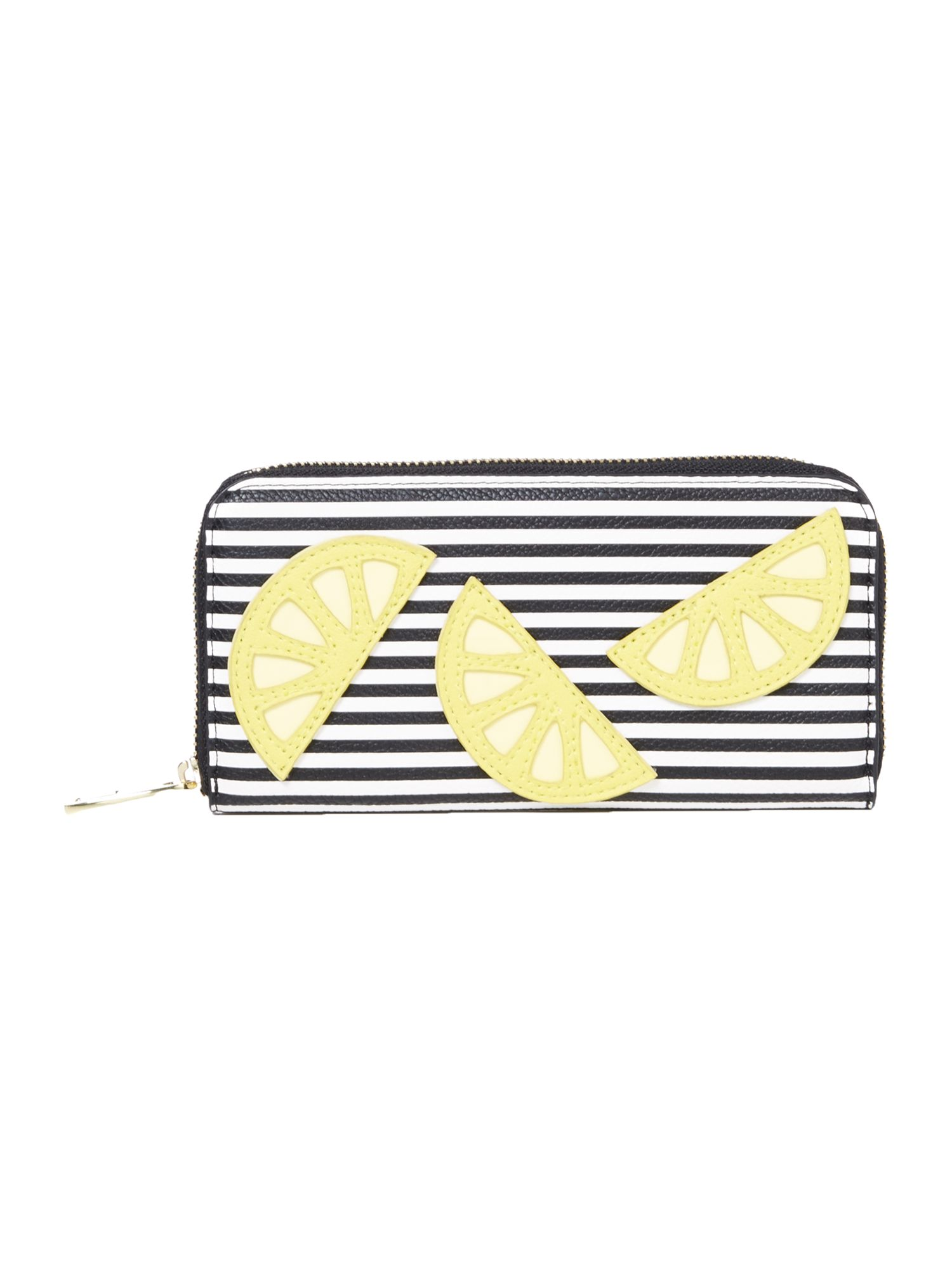 Therapy Lemon zip around wallet MultiColoured