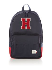 Tommy Hilfiger Flock `H` Logo Backpack