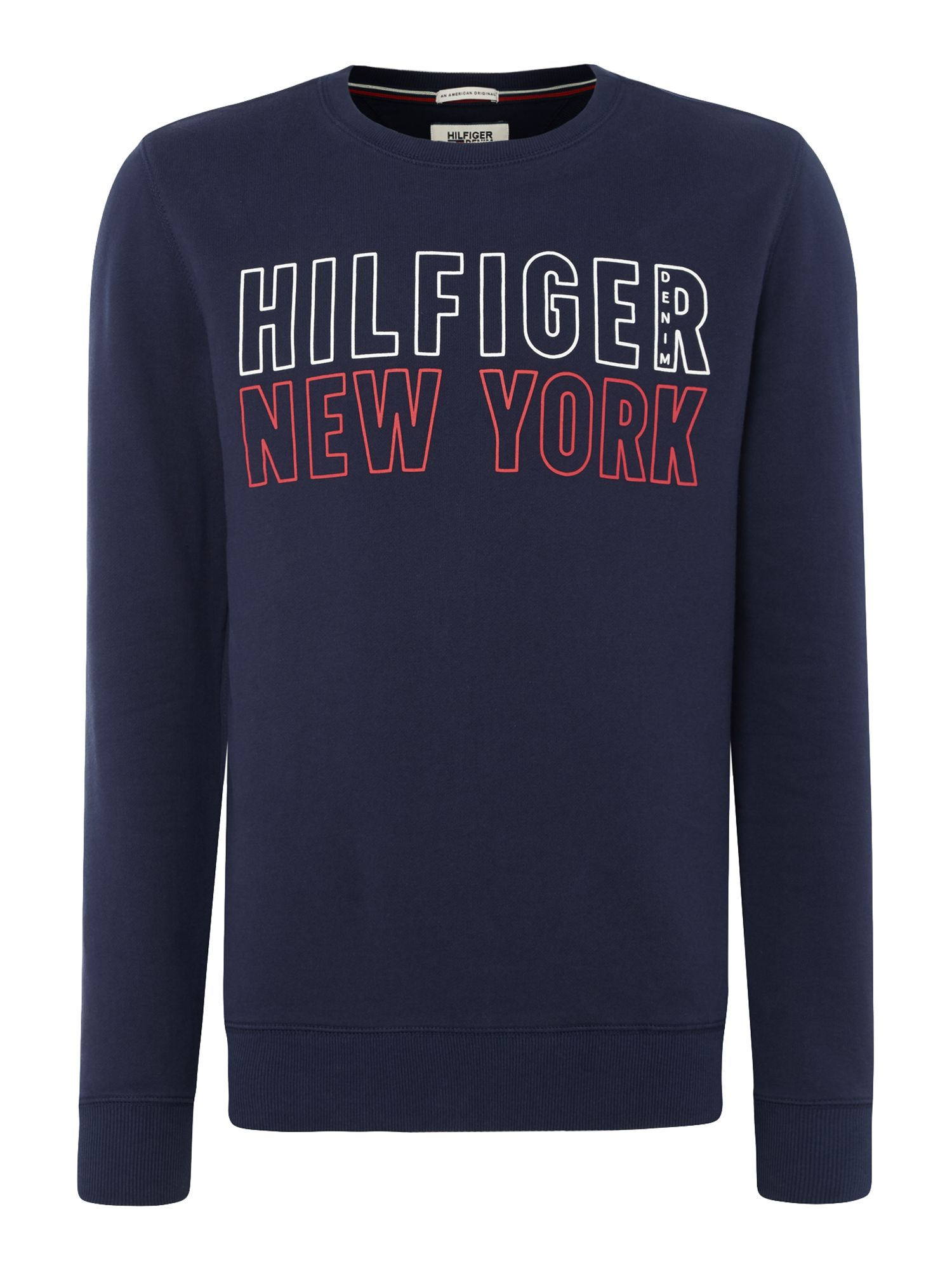 Men's Tommy Hilfiger Basic Hilfiger Sweatshirt, Blue
