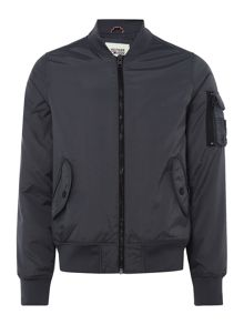 Tommy Hilfiger tape bomber jacket