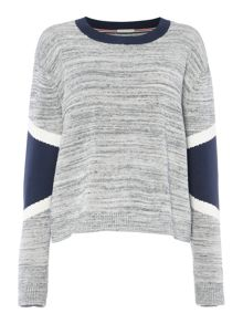 Tommy Hilfiger Panel Knit Sweater