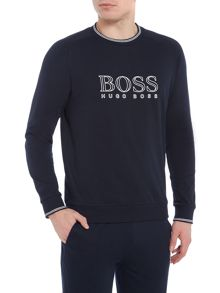 Hugo Boss Logo Crew Neck Sweatshirt