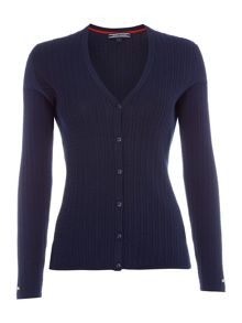 Tommy Hilfiger Erca Cable Knit Cardigan