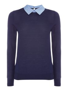Tommy Hilfiger Elga Oxford Detail Sweater