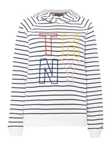 Tommy Hilfiger Damaris Stripe Hoody
