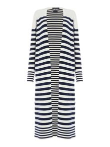 Tommy Hilfiger Ivy Stripe Long Cardigan