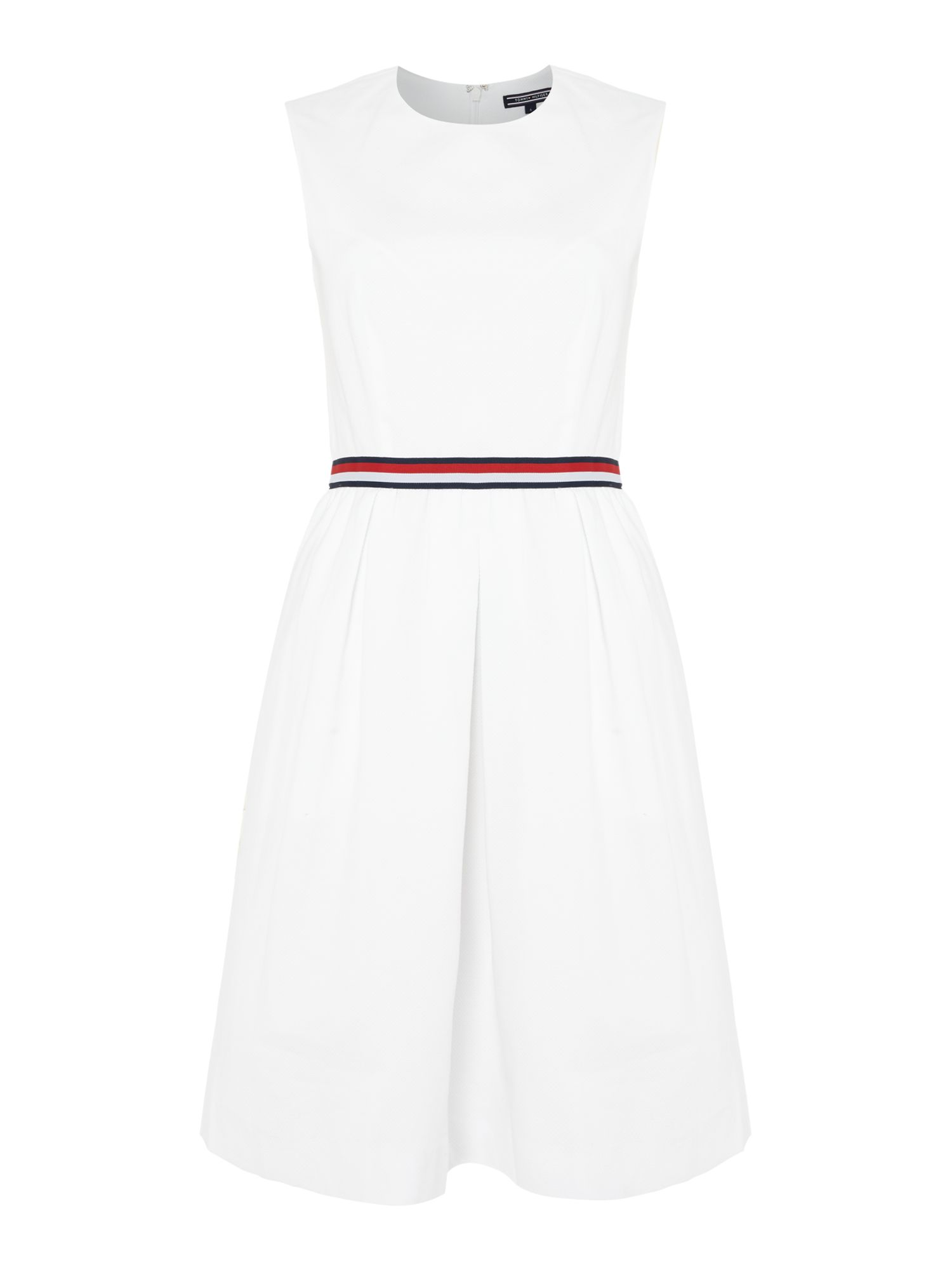 Tommy Hilfiger Taylor Solid Dress, White