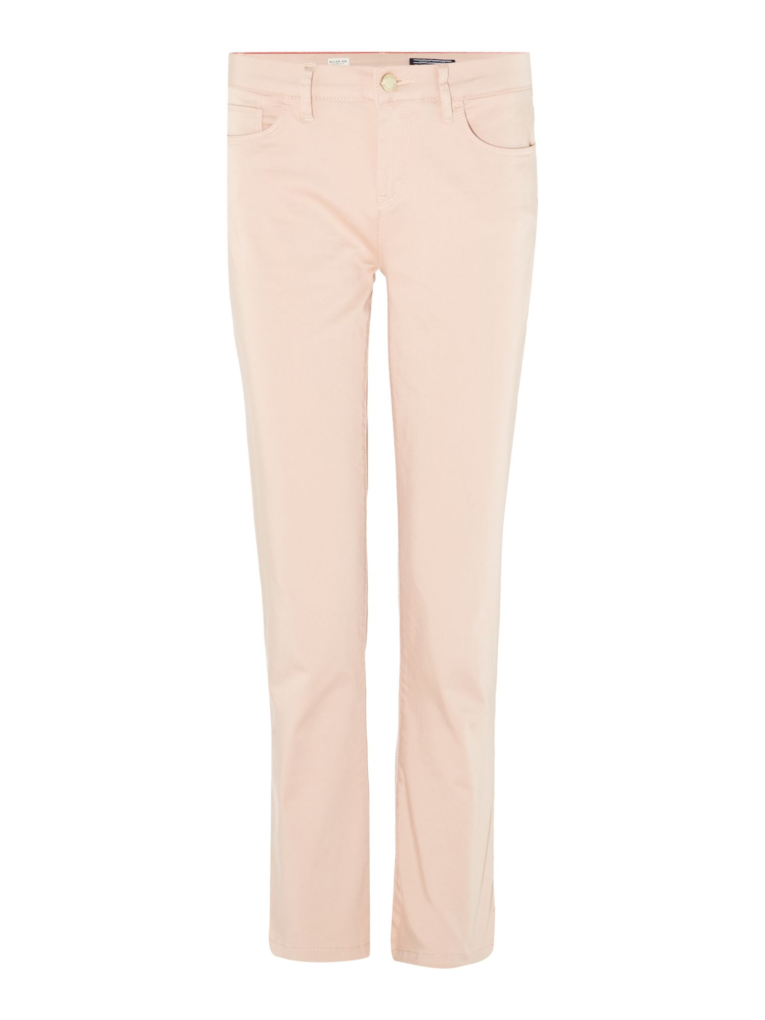 Tommy Hilfiger Silvana Milan Cropped Pants, Pink