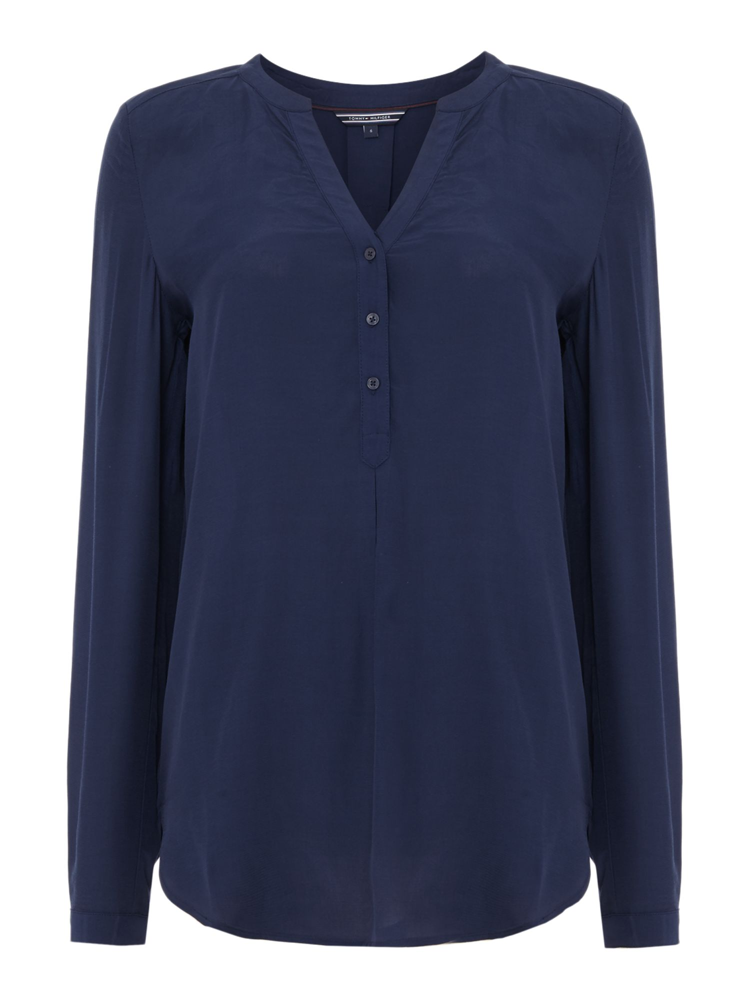Tommy Hilfiger Nelda Viscose Blouse, Blue