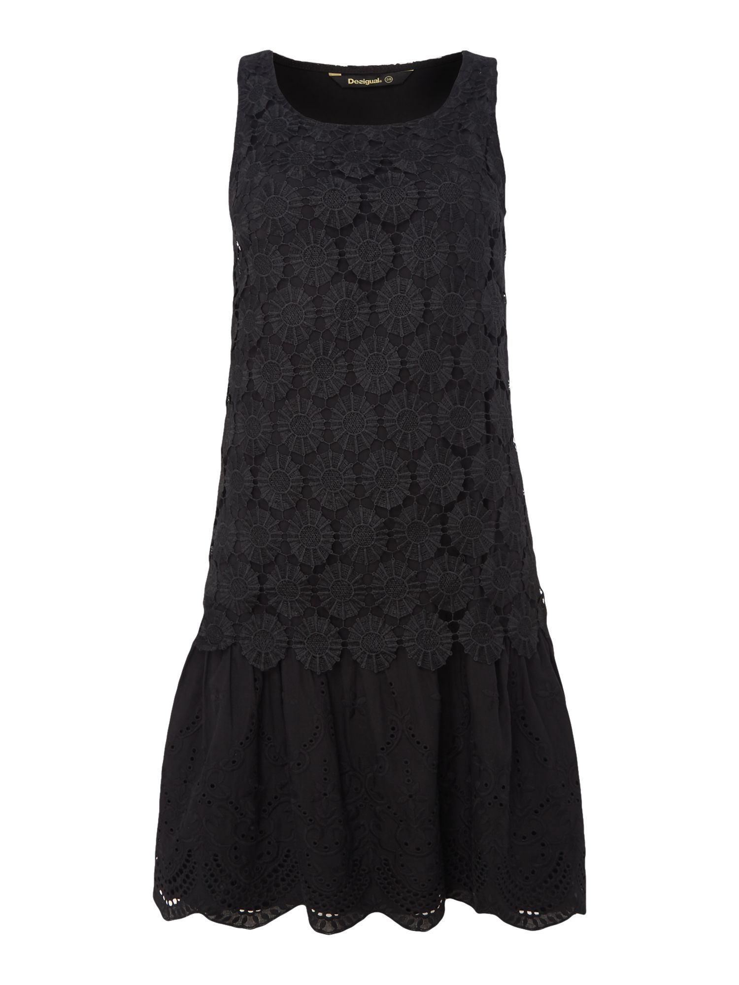 Desigual Dress Barcelona, Black