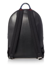 PS By Paul Smith Dual Zip Leather Backpack