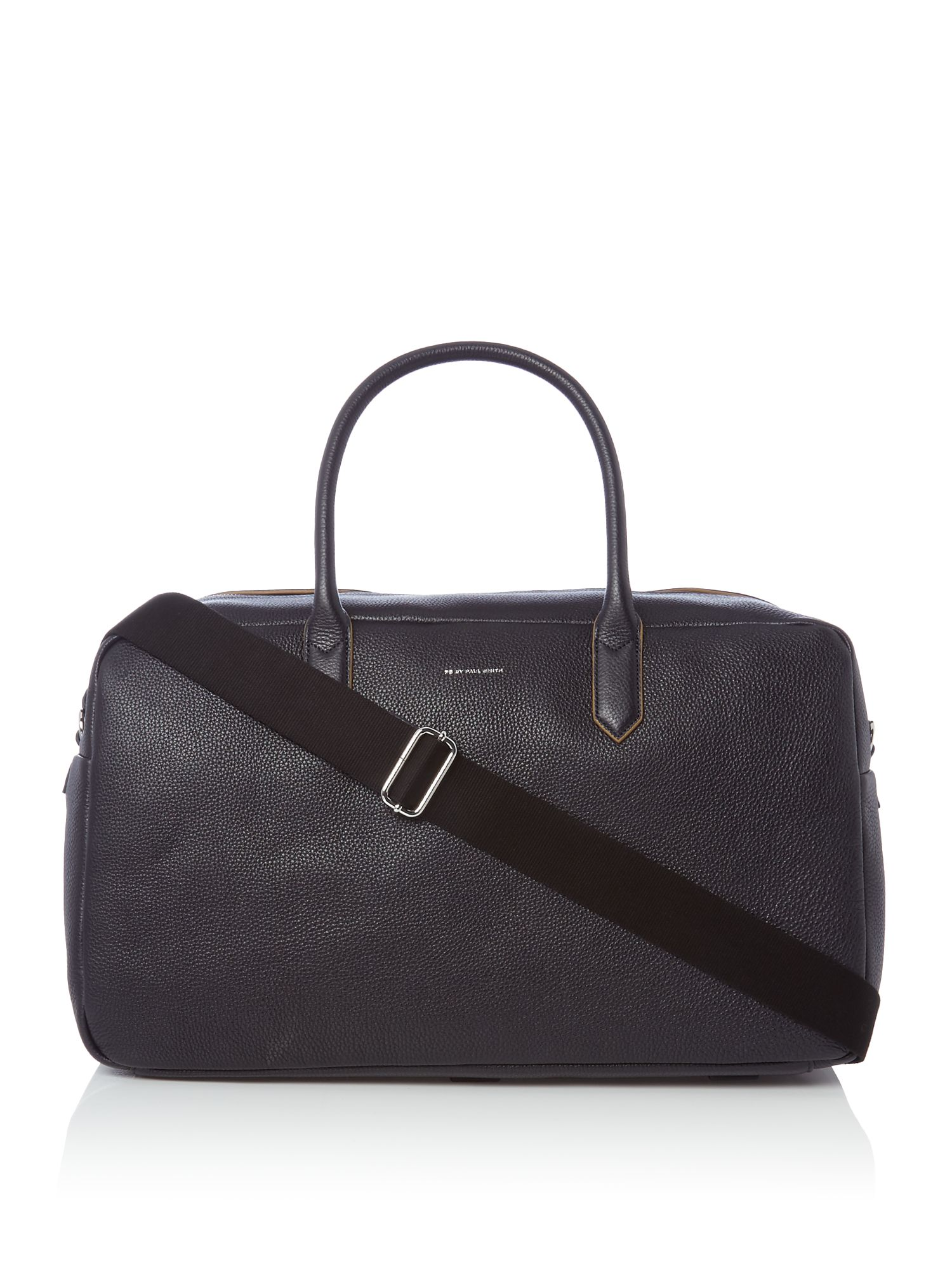 Paul Smith Leather Holdall Bag Navy