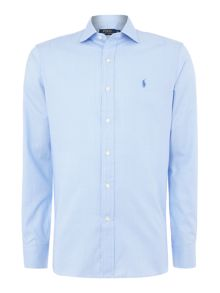 Polo Ralph Lauren Classic Fit Dogtooth Texture Shirt