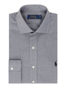 Polo Ralph Lauren Classic Fit Fine Dogtooth Shirt