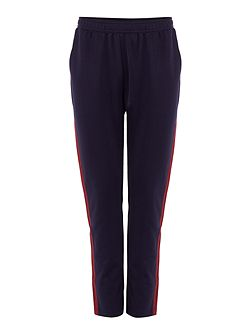 Contrast panel track pant