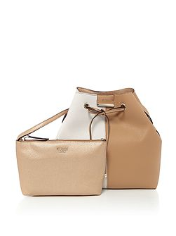 Bobbie reversible bucket bag